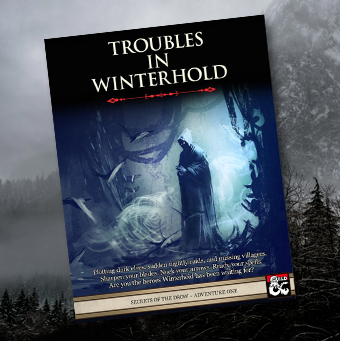 Trouble in Winterhold cover