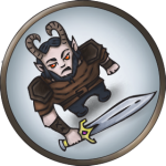 Token-round-satyr