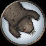Token-round-brown-bear