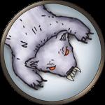Token-round-polar-bear