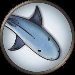 Token-round-Giant-shark-round