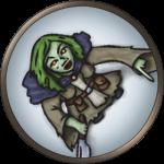 Token-round-green-hag