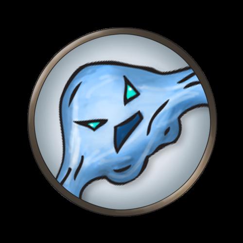 Token-round-water-elemental